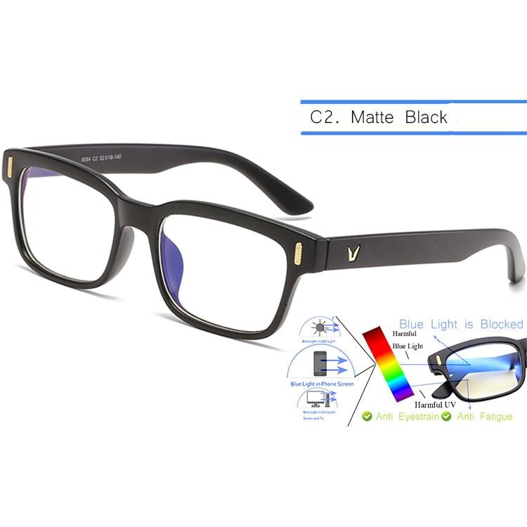 Men Anti-Blue Light Spectacles-Anti-Fatigue-Myopia/Hyperopia