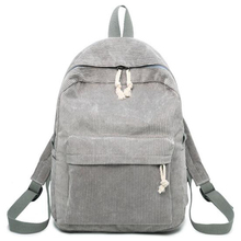 GA13-GA22 Women Backpack Corduroy Design School Bac