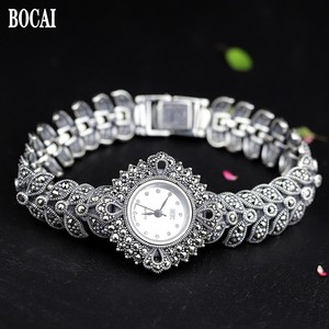 Image 1 - The new elegant business 925 sterling silver womens autumn bracelet watches