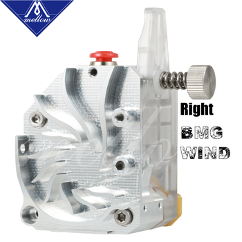Mellow NF-BMG-WIND V6 Dual Drive BMG Extruder For Simple Installation Ender 3 Short Distance Printing 3D Printer Parts mellow all metal nf crazy hotend v6 copper nozzle for ender 3 cr10 prusa i3 mk3s alfawise titan bmg extruder 3d printer parts