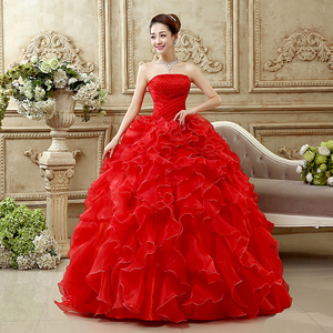 Image 2 - Ruched Strapless Quinceanera Dress With Beaded Bodice Vestido 15 Anos Vestido De Debutante