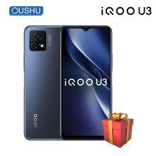 IQOO-teléfono inteligente U3 5G Original MTK Dimensity 800U, 90Hz, frecuencia de actualización, 5000mAh, 18W, carga de tablero, pantalla LCD de 6,58 pulgadas, Pantalla Completa