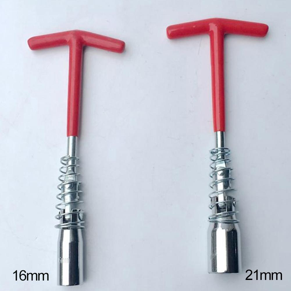 Universal Car 16mm 21mm Spark Plug Removal Tool T-Handle Spanner Socket Wrench Car  Special Disassembly Tool