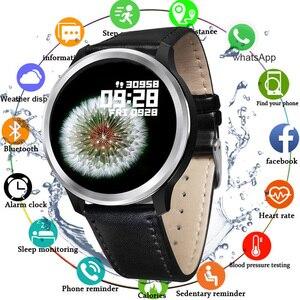 "Image 1 - 2020 חכם שעון IP68 אק""ג + PPG לחץ דם מדידה E70 Smartwatch לב שיעור חמצן צג שיחת תזכורת ספורט גברים נשים"