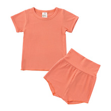 Childrens Clothing T-shirt & Shorts Baby Boys Set Summer Girls 2 Pieces Sets