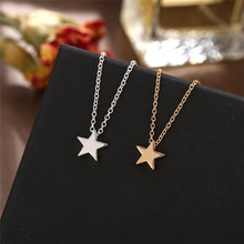 Bohemian Star Necklace for Women Necklaces Pendant on Neck Chocker Necklace Female Jewelry Gift moon star heart choker necklace women double layer gold silver chain love necklace pendant on neck chocker necklace jewelry gift