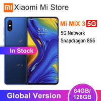 Global Version Xiaomi Mi Mix 3 5G Network Smartphone 6GB 64GB/128GB Snapdragon 855 6.39