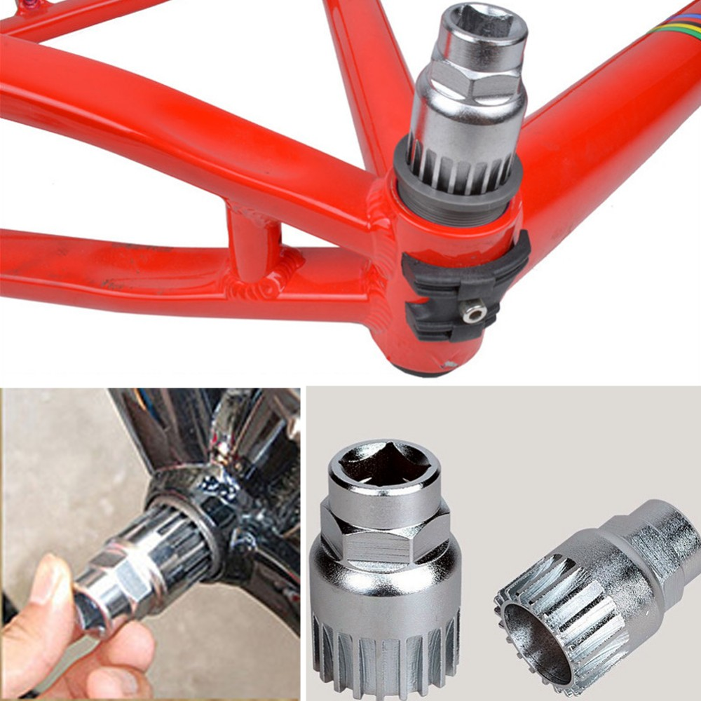 New-Practical-Cycle-Cycling-Mountain-Bicycle-Sealed-Bottom-Bracket-Spindle-Remover-Repair-Silver-Steel-Tool-Sports