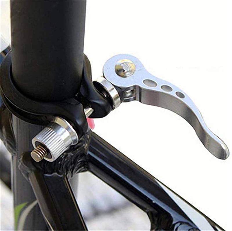 Bike Seatpost Clamp Quick Release Mountain Bike Seat Tube Clip Bicycle Seatpost