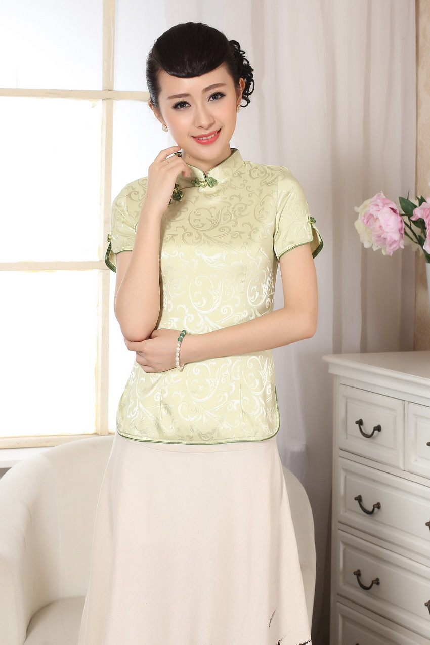 Wholesale Cheongsam Chinese Costume Chinese Style Chinese Costume Blouses A0052-A