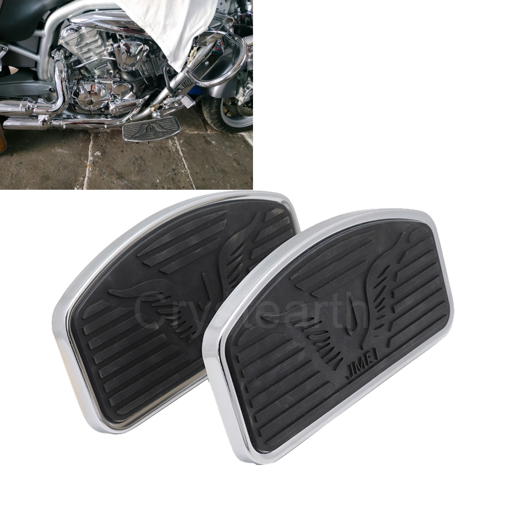 Artudatech Motorcycle Foot Rest Board Motorbike Front Footboard Foot Pegs Metal Footrest Footpegs Footrests for Yamaha TMAX 530 2012-2015
