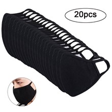 Cotton korean Unisex maska with Carbon Filter Medical KN95 Anti PM2.5 Black Mouth-muffle Mask Kpop Anti Dust Flu Mouth Face Mask