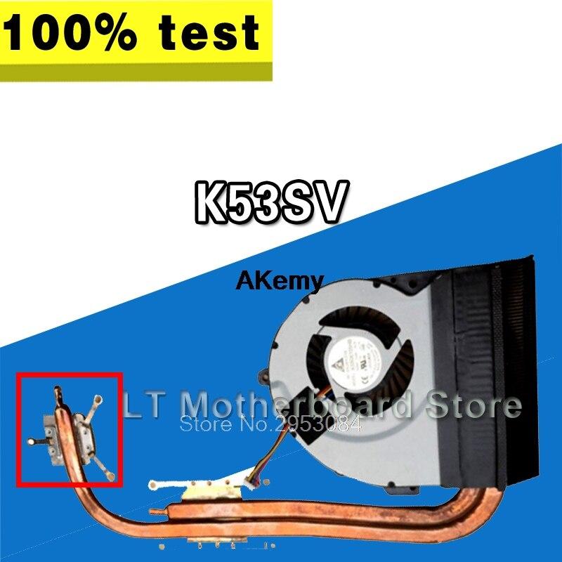 For ASUS K53SV K53SM K53SJ K53SC CPU Cooler Fan heatsink 13N0-KDA0102 KSB06105HB
