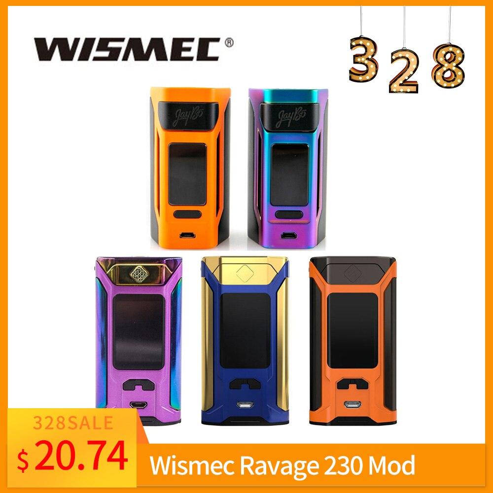 Original Wismec Reuleaux RX2 20700 TC Box Mod/Sinuous Ravage230 Mod VW/TC/TCR Mode VS Gen3 Dual Vape Mod E-Cig