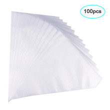 99Pcs Pack Pastry Bag S/M/L Size Disposable Piping Bag Icing Fondant Cake Cream Decorating Pastry Tip Cakes Baking Tools 47 basket weave piping nozzle small size basketweave decorating tip nozzle baking tools for cakes bakeware icing tip