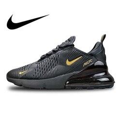 Original auténtico Nike Air Max 270 zapatillas de correr para hombre al aire libre coloridas zapatillas ligeras transpirables AH8050 007