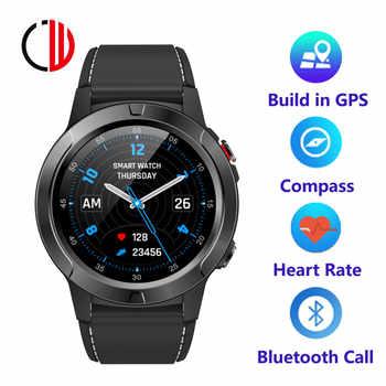 CZJW M4 Bluetooth Smart Uhr mann GPS outdoor fitness mann herz rate muti-uhr gesichter reloj intelligente Für Android ios Telefon