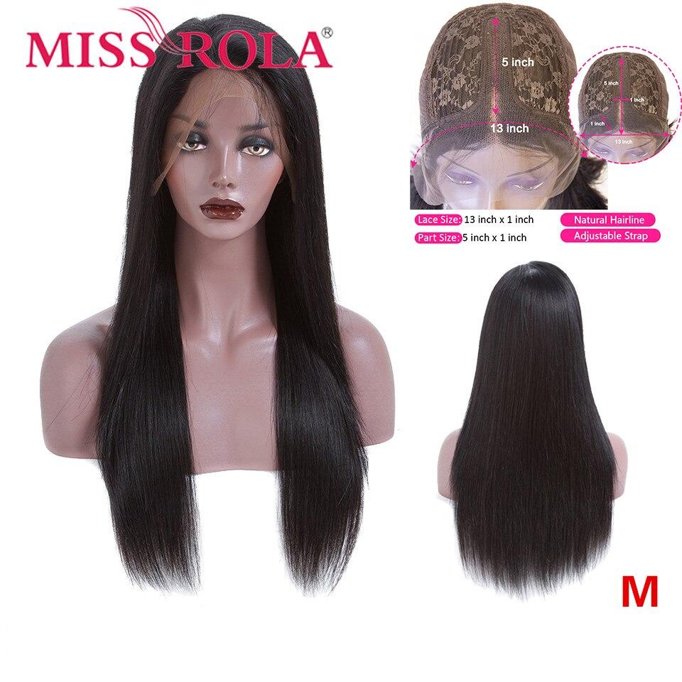 Miss Rola – perruque Lace Closure Wig brésilienne Remy, cheveux 100% naturels, lisses, Orange 99J bordeaux, 4x4, pre-plucked