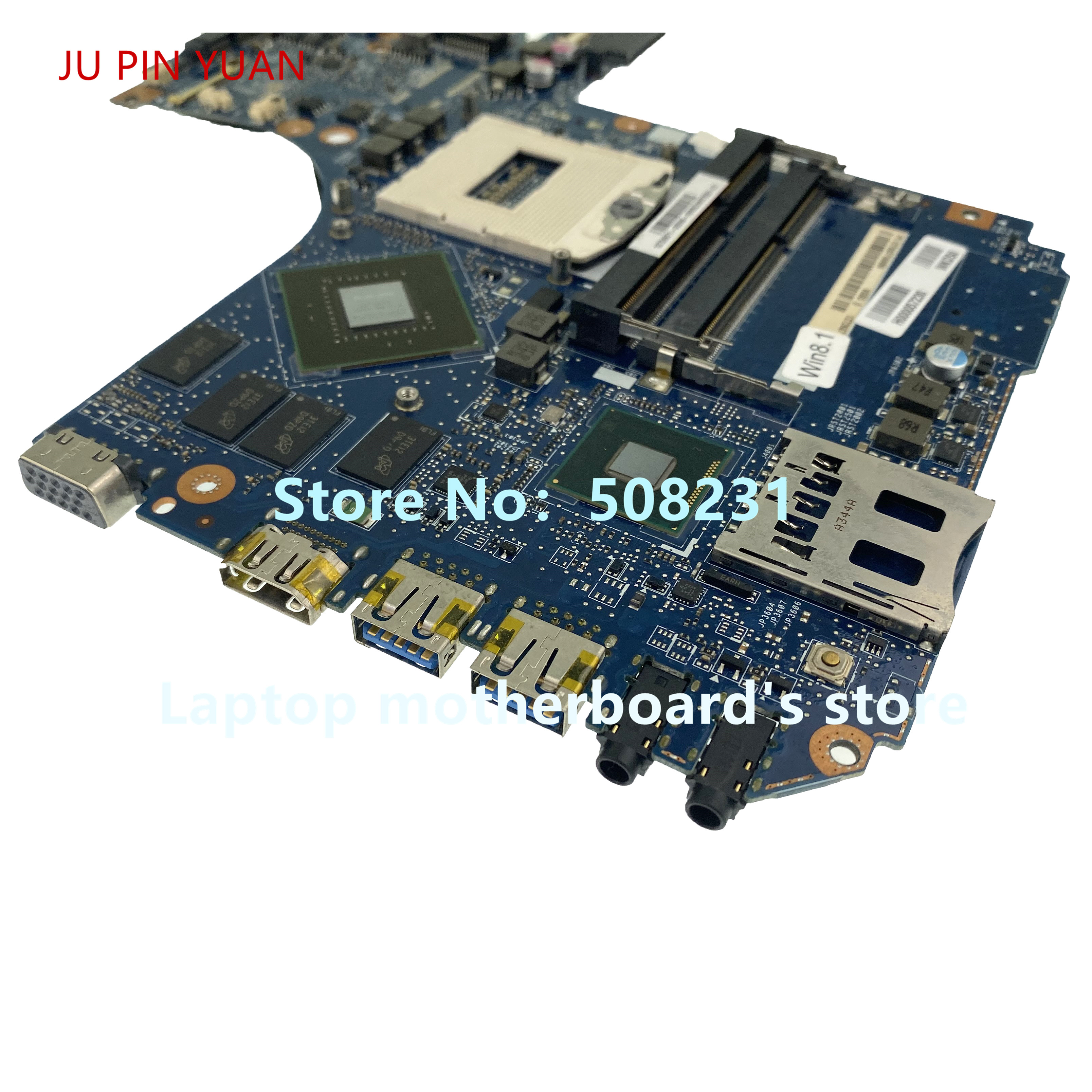 JU PIN YUAN For Toshiba Satellite P50T-<font><b>A</b></font> P55T-<font><b>A</b></font> P50 <font><b>P55</b></font> Laptop Motherboard H000057230 mainboard GT745M 100% fully tested image