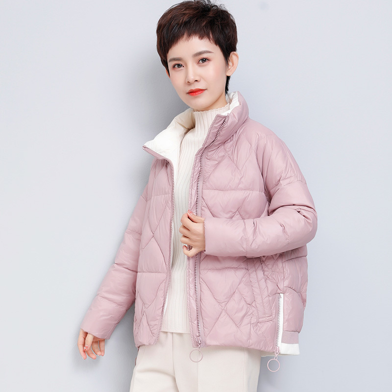 Down Duck White Coat Women Winter Coat Women Loose Warm Puffer Jacket Korean Short Jackets 2020 Parka D6818 YY1529 S