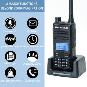 Image 4 - Baofeng DM 1801A Talkie walkie Double Créneau Horaire DMR Niveau I & II Radio Analogique Double Bande 136 174/400 470MHz Chasse DM 5R Plus