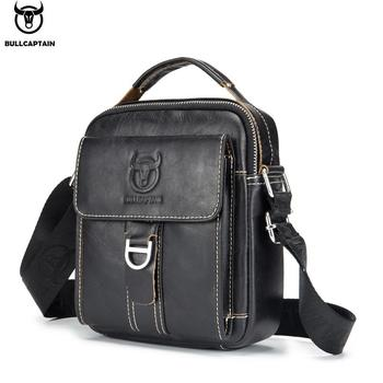 BULLCAPTAIN Men Shoulder Bag Classic Brand Men Bag Vintage Style Casual Men Messenger Bags Promotion Crossbody Bag Male Hot Sell