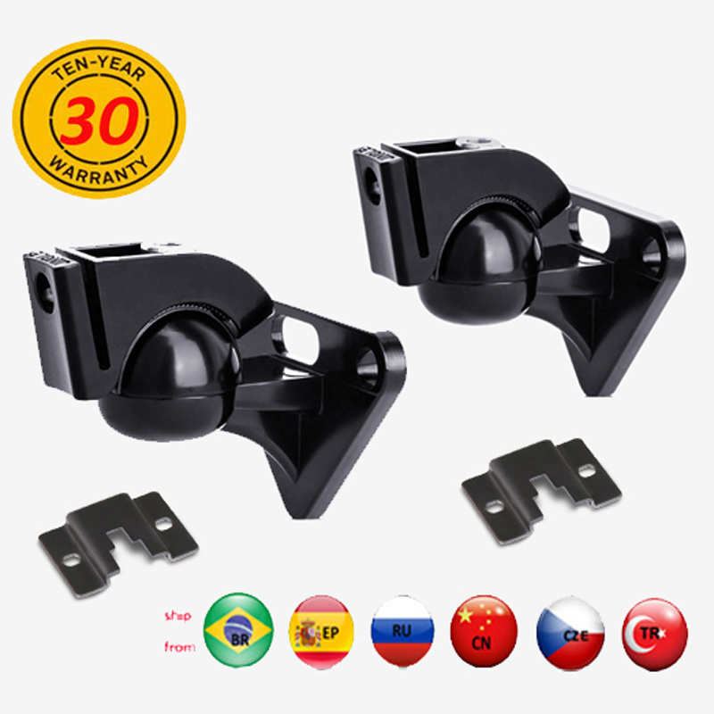 (1 Pair) R5 Zinc Alloy Universal Zinc Alloy Strong 15kg Z906 Sonos Play Sound SPEAKER WALL Mount Bracket Tilt Swivel Full Motion