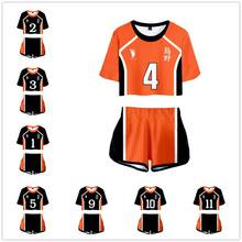 Haikyuu cosplay sawamura daichi traje cosplay uniforme do ensino médio camisa esportiva + shorts jerseys terno(China)