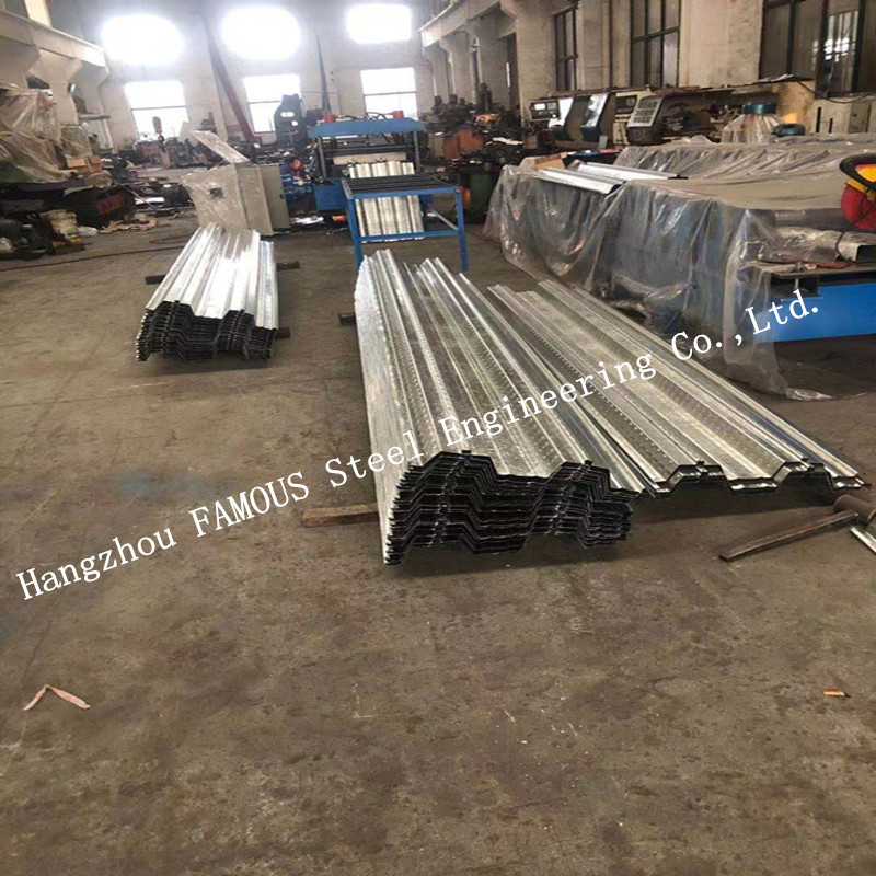 Galvanized Steel Composite Comflor 60 80 Metal Decking Formwork For Floor Slab System Construction