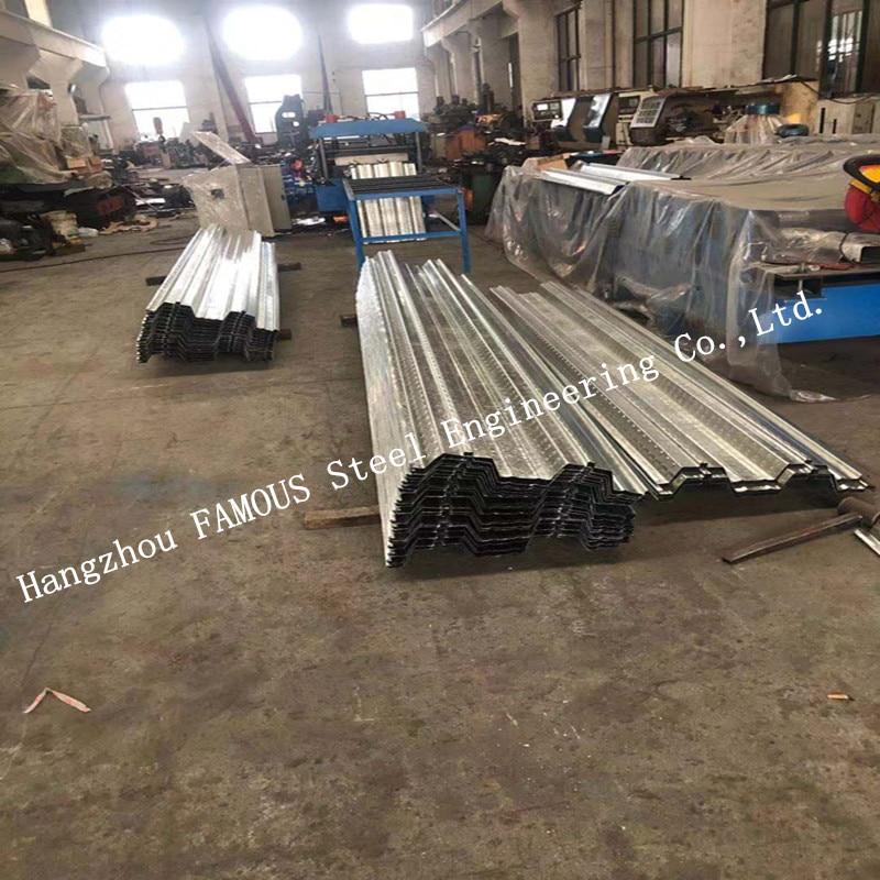 Galvanized Steel Composite Comflor 60 80 Metal Decking Formwork For Floor Slab System Construction