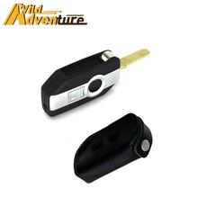 Moto Start Remote Control Keyless Key Cover Case For BMW R1200GS R1250GS R1200 GS/RS F750GS K1600GT GTL One Click Uncut Blade