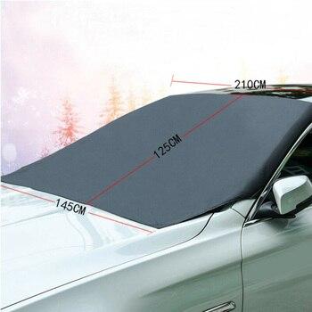 アクセサリー新磁気車のフロントガラス積雪氷/霜ガードサンユニバーサル高品質 -