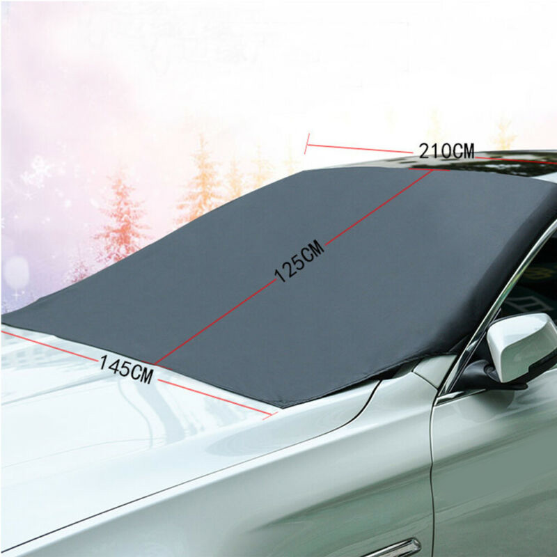 Accessories New Magnetic Car Windshield Snow Cover Ice/Frost Guard Sunshade Protector Universal in High Quality