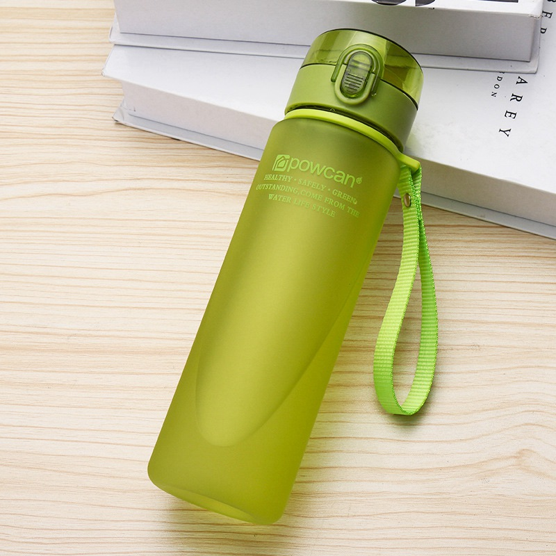 Water-Bottle Gourde Direct-Drinking-Shaker-Bottles Plastic 400ml Hiking Sport 560ml En