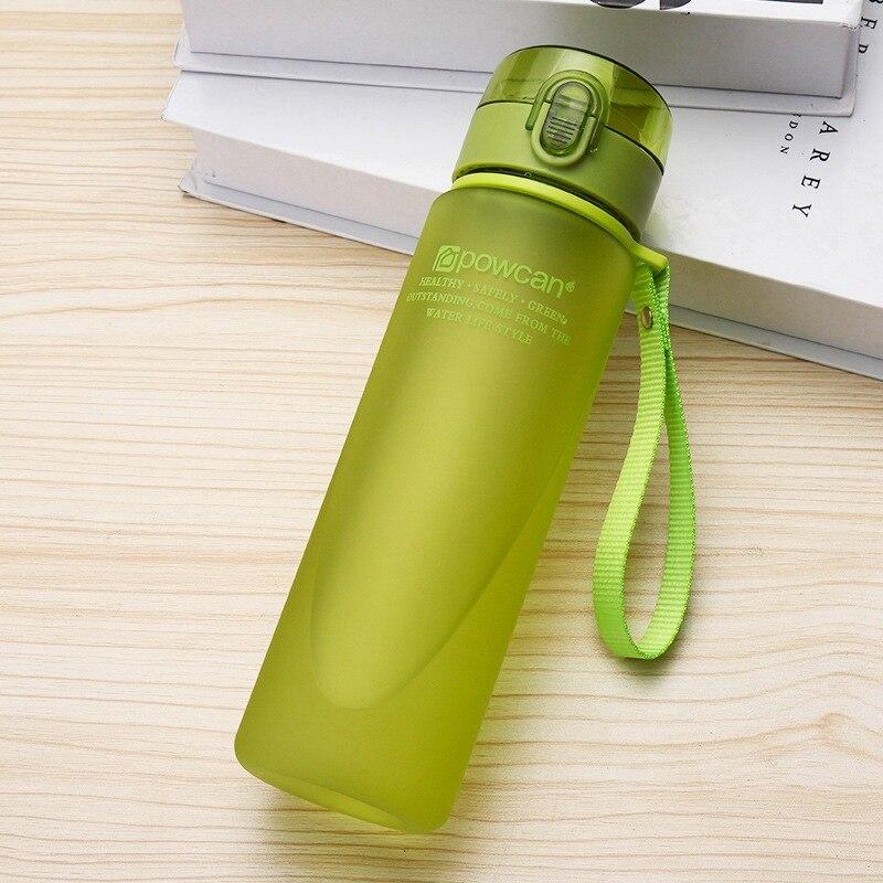 Bouteille d'eau 400ml 560ml en Plastique Gourde en Plastique Sport Direct boire Shaker bouteilles randonnée bouteille Portable pour l'eau