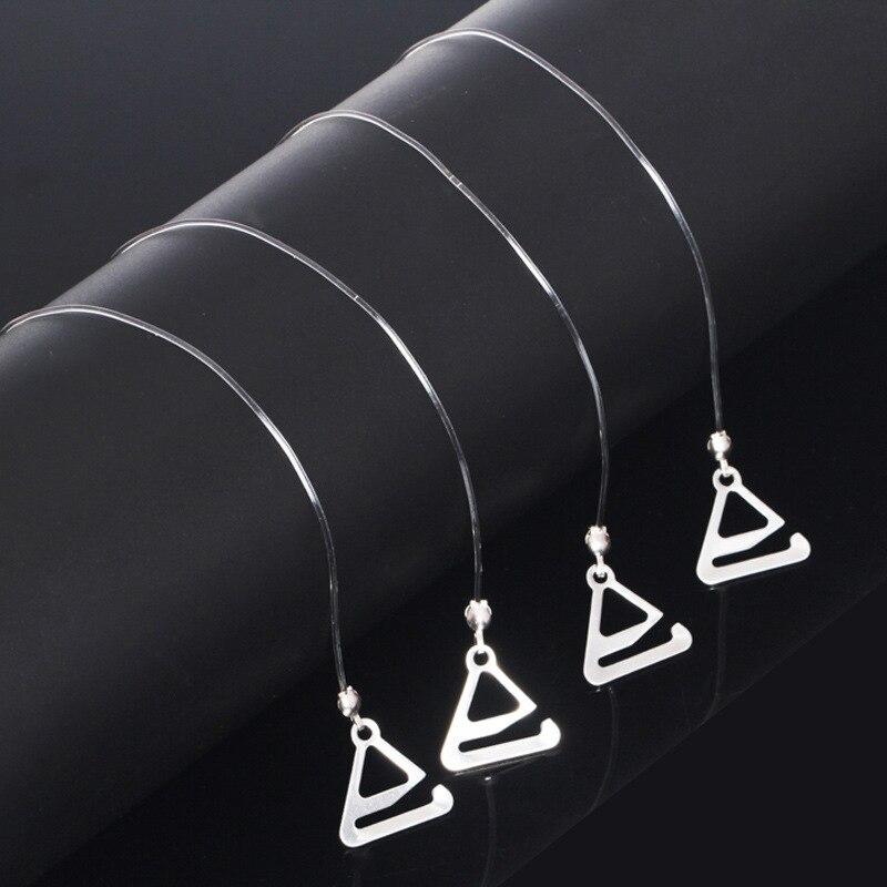Clear Bra Straps Transparent Invisible Detachable Adjustable Silicone Women's Elastic Belt Intimates Accessories 3/1pair Choose