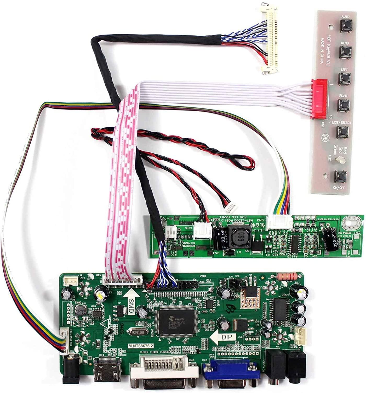 Latumab – carte contrôleur pour écran LCD M185BGE-L23 / M185BGE-L22/M185BGE-L21, 18.5 pouces, 1366 × 768, HDMI, DVI, VGA