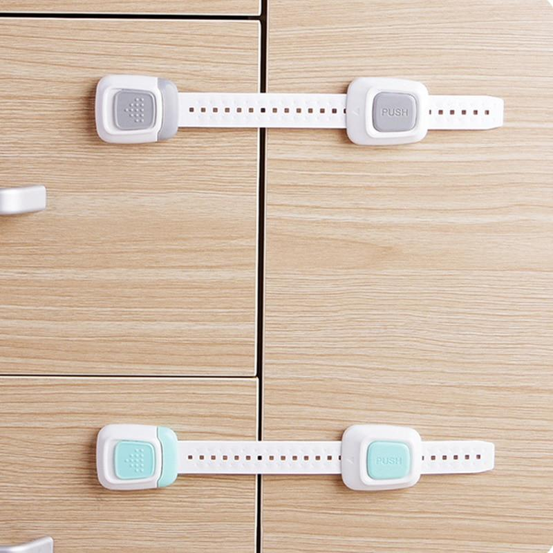 Double Buckle Child Protection Lock Child Safety Lock Door And Window Adjustable Belt