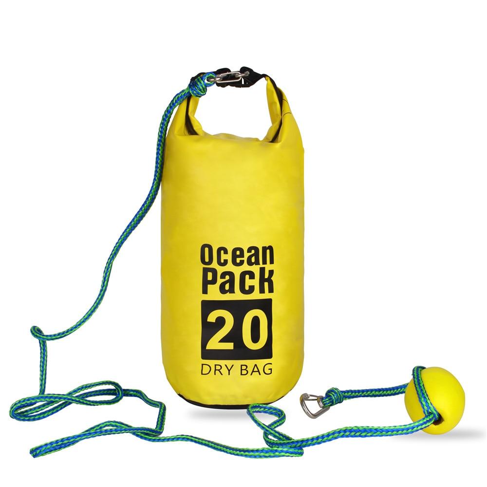 Буксировочный канат, песочный мешок 2-в-1, песочный якорь и водонепроницаемая док-станция для Каяка, Гидроцикла, гребли, небольших лодок