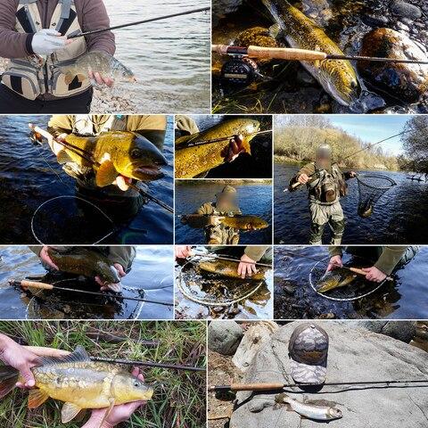 pesca com secao de extensao extra