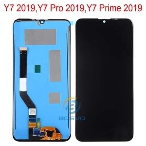 Image 3 - Pantalla LCD para Huawei Y7 2019, Y7 Pro y Y7 Prime 2019 con piezas de repuesto de ensamblaje táctil