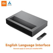 Xiaomi Fengmi lazer TV 4K sinema ev sineması 1700 ANSI lümen BLE 4.0 destek 3D HDR10 DTS 95% yenilenmiş projektör
