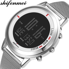 Shifenmei Men Watches Fashion LED Sports Digital Watch Tungs