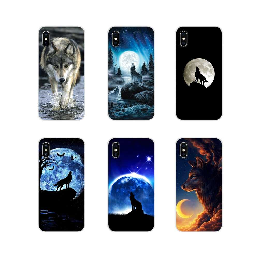 Animal Moonlight Wolf for Cell Phone Shell Cases For Huawei G7 G8 P7 P8 P9 P10 P20 P30 Lite Mini Pro P Smart Plus 2017 2018 2019