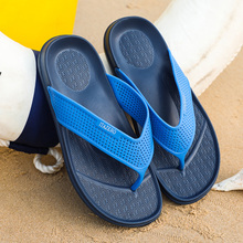 2019 New Trend Man Flip Flops Beach Comfortable House Slippers Men Soft Bottom Size 40-45 Summer