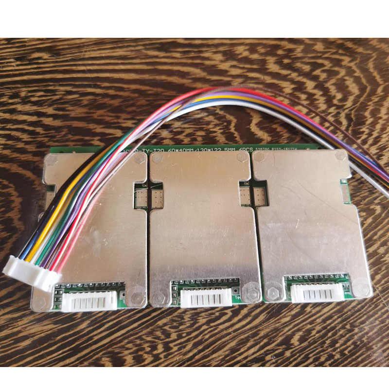 3s 4s 5s 6s 7s 15A制限 20A 18650 リチウムイオンリチウム電池保護ボード 12v 24v 29.4vリチウムイオンパックbmsバランスヒートシンク