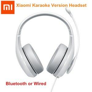 Xiaomi Karaoke Version Bluetooth Wireless Earphone Wired Headphones Microphone High Sensitivity Voice change Headsets For K Song