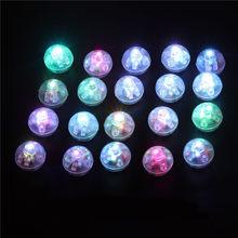 10Pcs Round Flash Ball LED Balloon Lights Mini Luminous Lamps for Lantern Bar Christmas Wedding Party Decoration