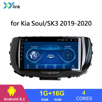 9 Inch Android 8.1 car dvd multimedia player radio video audio Stereo gps navigation system for Kia Soul/SK3 2019-2020 no 2 din