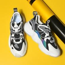 Running-Sneakers Sport-Shoes No-Slip Lightweight Comfortable Luminous Men